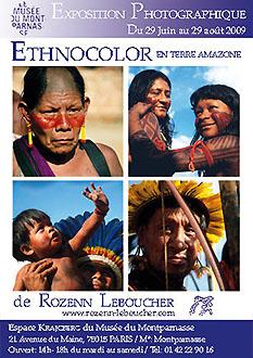 ETHNOCOLOR en Terre Amazone - -Krajcberg