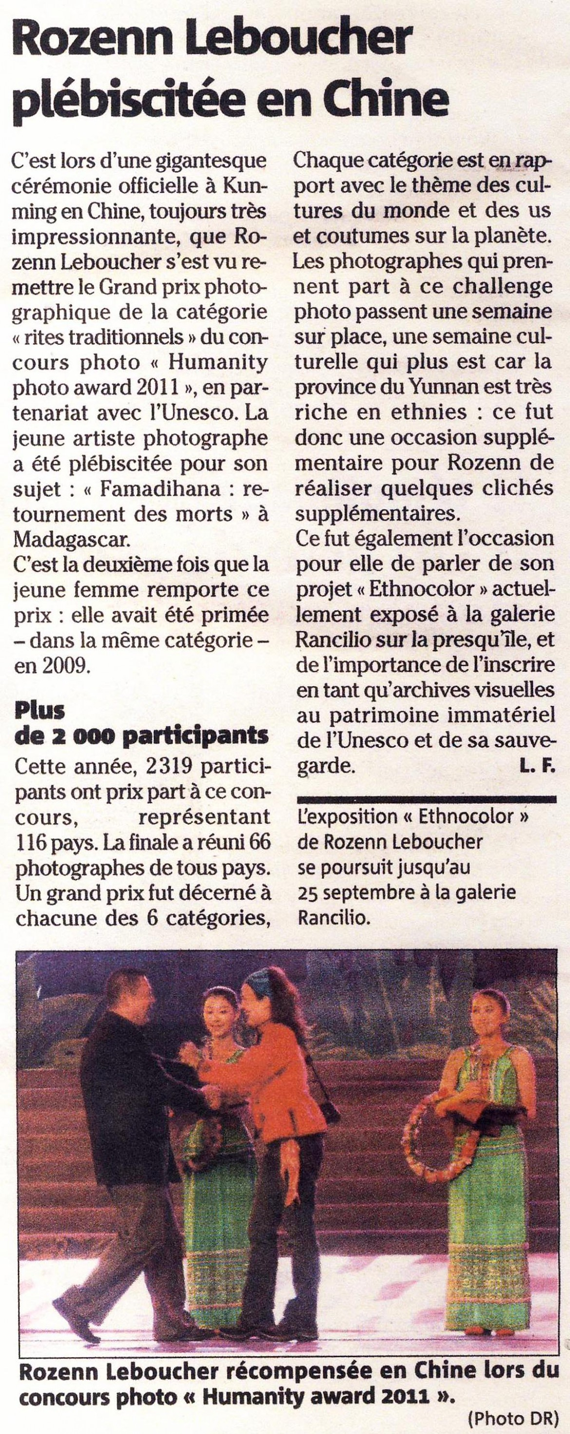 article prix HPA chine - photo award - Rozenn Leboucher